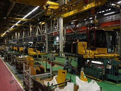 小松製作所工場