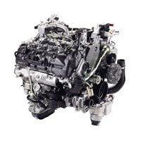豊田自動織機1VD-FTV型ディーゼルエンジン