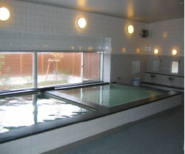 寮の大浴場